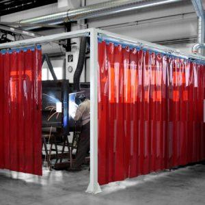 Welding PVC Red